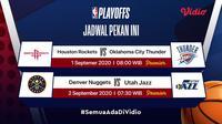 Jadwal playoff NBA. (Sumber: Vidio)
