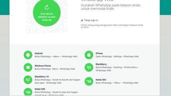 Cara Buramkan Tampilan WhatsApp Web Agar Tak Mudah Diintip