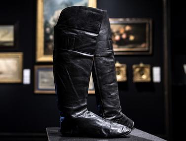 Sepatu Bot Napoleon Bonaparte Siap Dilelang