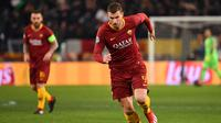 3. Edin Dzeko (AS Roma) - 5 gol dan 3 assist (AFP/Alberto Pizzoli)