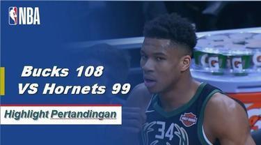 Giannis Antetokounmpo selesai dengan 34 poin dan 14 rebound saat Bucks memenangi keenam beruntun mereka.