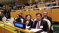 Dalam General Debate Sidang Majelis Umum PBB ke-73 yang berlangsung di Markas Besar PBB, temanya adalah membuat PBB relevan dengan semua orang.