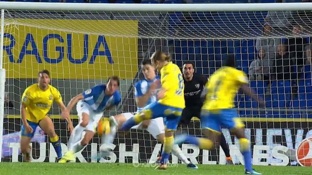 Las Palmas meraih kemenangan penting 1-0 atas sesama klub papan bawa Malaga dalam laga lanjutan La Liga, Selasa (6/2) dini hari WI...