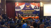 Rapat konsolidasi Nasdem di Sumatera. (Ist)