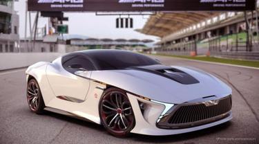 Konsep mobil sport Malaysia (Paultan)