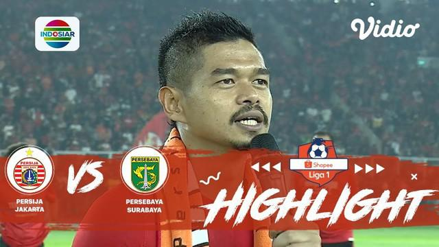 Berita video pidato perpisahan Bambang Pamungkas setelah laga Persija Jakarta melawan Persebaya Surabaya pada pekan ke-33 Shopee Liga 1 2019 yang membuat publik di SUGBK hening, Selasa (17/12/2019).