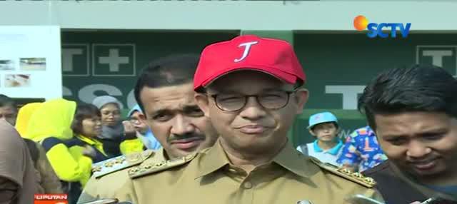 Gubernur DKI Jakarta Anies Baswedan menyatakan dirinya siap bekerja sama dengan siapa saja pengganti Sandiaga Uno sebagai Wakil Gubernur DKI Jakarta.