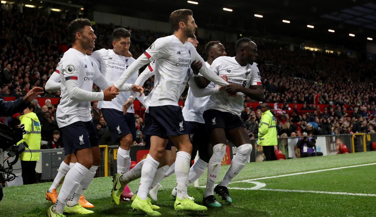 FOTO Gol Lallana Selamatkan Liverpool Dari Kekalahan Atas
