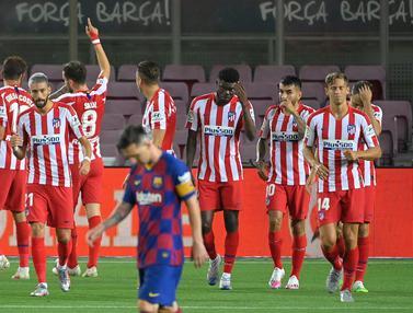 Ditahan Imbang Atletico Madrid, Barcelona Gagal Salip Real Madrid