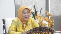 Menaker Ida Fauziyah menyaksikan Laporan Hasil Pemeriksaan (LHP) Laporan Keuangan Pemerintah Pusat (LKPP) hasil audit BPK RI Tahun 2020
