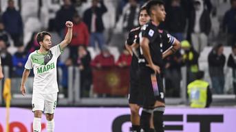 Hasil Liga Italia: Juventus Dipermalukan Sassuolo, Inter Milan Menang