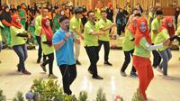 Pemkab Gresik memperingati hari remaja internasional (Foto:Liputan6.com/Dian Kurniawan)