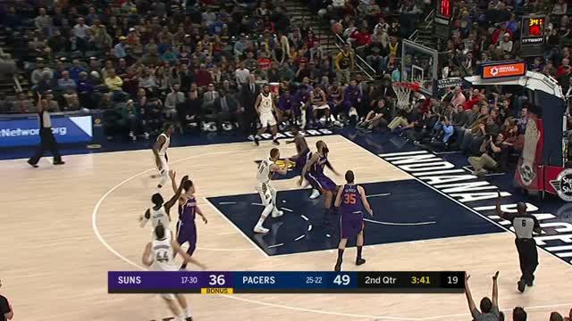 Berita video game recap NBA 2017-2018 antara Indiana Pacers melawan Phoenix Suns dengan skor 116-101.