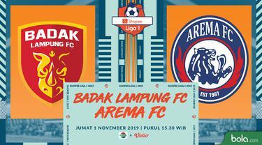 Badak Lampung FC Vs Arema FC