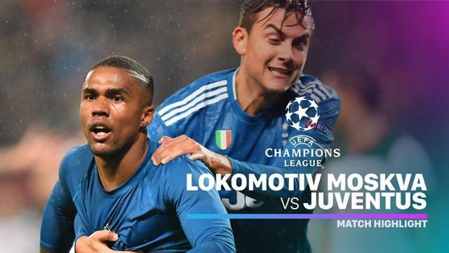 Berita video highlights matchday 4 Grup D Liga Champions 2019-2020 antara Lokomotiv Moscow melawan Juventus yang berakhir dengan skor 1-2, Rabu (6/11/2019).
