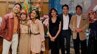 Sheila Dara dan Keluarga Vidi Aldiano (Sumber: Instagram/princessbesbarini/vidialdiano)