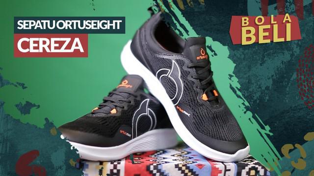 Berita video Bola Beli kali ini mengulas teknologi yang dipakai di sepatu lari Ortuseight Cereza.