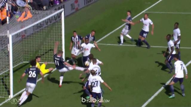 Berita video kemenangan dramatis West Brom atas Tottenham Hotspur 1-0 dalam lanjutan Premier League 2017-2018. This video presented by BallBall.