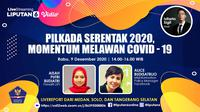 Live Streaming Pilkada 2020. (Liputan6.com/Abdillah)