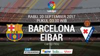 La Liga 2017 Barcelona Vs Eibar (Bola.com/Adreanus Titus)