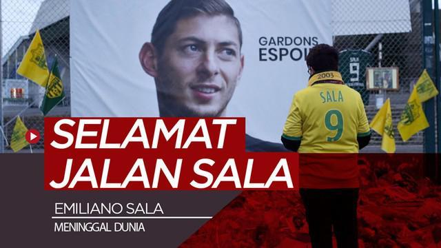 Berita video striker Cardiff City, Emiliano Sala, akhirnya dipastikan meninggal dunia setelah jasadnya ditemukan pada Rabu (6/2/2019).