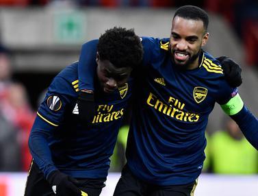 Tahan Imbang Standard Liege, Arsenal Juara Grup F Liga Europa