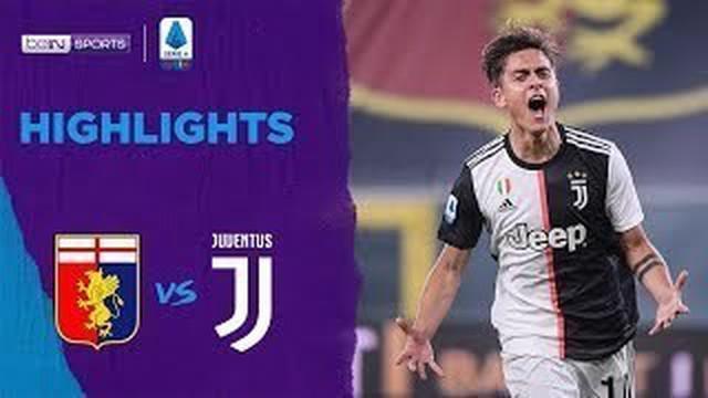 Berita Video Highlights Serie A, Gol Cantik Douglas Costa Tutup Kemenangan Juventus Vs Genoa 3-1