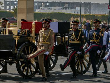 Upacara Militer Pemakaman Hosni Mubarak