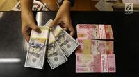 Nilai tukar mata uang rupiah terhadap dolar, selalu mengalami perubahan setiap saat terkadang melemah terkadang juga dapat menguat.