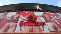 Ini dia kemegahan Stadion Emirates, markas dari juara Piala FA 2015, Arsenal.
