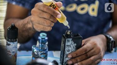 Pemerintah Bakal Larang Penggunaan Rokok Elektrik dan Vape