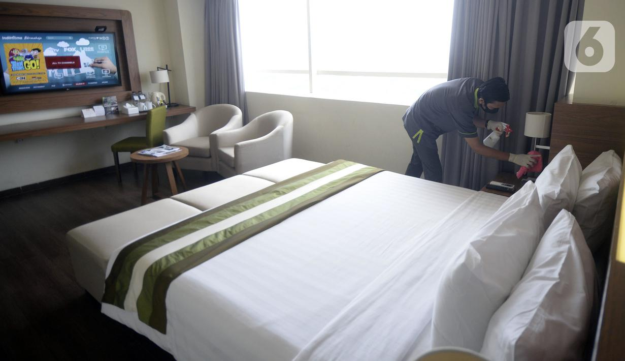 Foto Pandemi Covid 19 Hotel Ini Sediakan Paket Isolasi Mandiri News Liputan6 Com