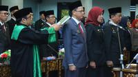 Pelantikan besar-besaran pejabat Pemkot Palembang (Dok. Humas Pemkot Palembang / Nefri Inge)