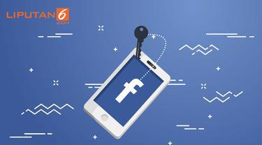 banner grafis skandal kebocoran data Facebook