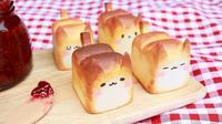 Roti Unik Berbentuk Kucing Ini Karya Seniman Korea Selatan (sumber. Brightside.me)