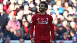 1. Mohamed Salah (Liverpool) – 16 gol dan 7 assist (AFP/Geoff Caddick)