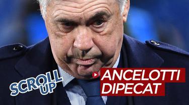 Berita video Scroll Up kali ini membahas Carlo Ancelotti yang dipecat meski Napoli berhasil lolos ke 16 Besar Liga Champions 2019-2020.