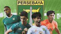 Persebaya Surabaya - 4 Pemain Kunci Persebaya Surabaya untuk Hadapi Persela Lamongan (Bola.com/Adreanus Titus)