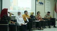 Pihak Rumah Sakit Hasan Sadikin menggelar jumpa pers di Bandung, Jumat (24/5/2019). (Huyogo Simbolon)