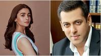 Alia Bhatt dan Salman Khan. (Sumber: Instagram/aliabhatt dan Instagram/beingsalmankhan).