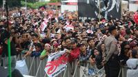 Lautan manusia dalam Apel Kebangsaan di Semarang (Solopos.com)