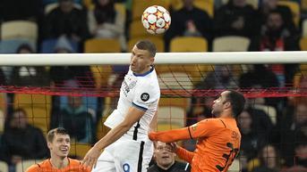 FOTO: Inter Milan Bermain Imbang di Markas Shakhtar Donetsk