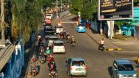 Total kendaraan yang sudah kembali dari Sumatera ke Jawa melalui Pelabuhan Merak hingga Kamis 29 Juni 2017, baru 40.765 unit. (Liputan6.com/Yandi Deslatama)