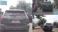 Dua unit Fortuner ini sedang melintasi Kota Purwokerto, Jawa Tengah.