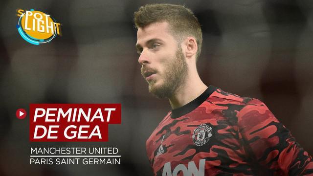 Berita video spotlight empat klub peminat David De Gea jika hengkang dari Manchester United.