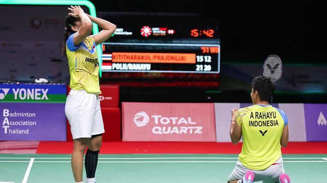 FOTO: Bungkam Wakil Tuan Rumah, Greysia / Apriyani Juara Thailand Terbuka