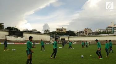 Hadapi Thailand, tim medis timnas Indonesia pastikan kesehatan para pemain maksimal