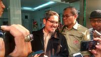 Jonru Ginting penuhi panggilan Polda Metro Jaya (Liputan6.com/ Nafiysul Qodar)