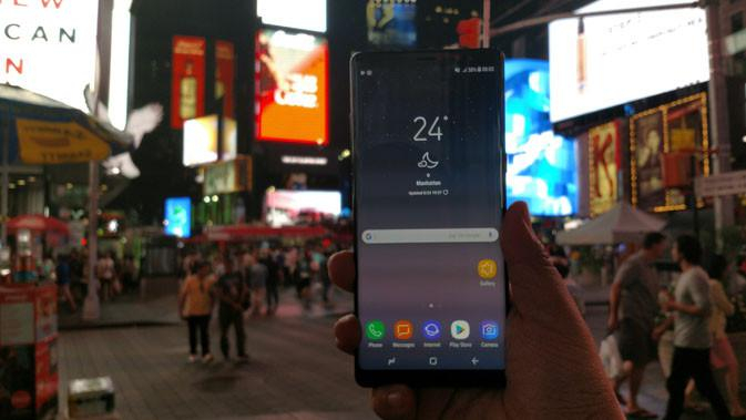 Samsung Galaxy Note 8. Liputan6.com/ Yuslianson