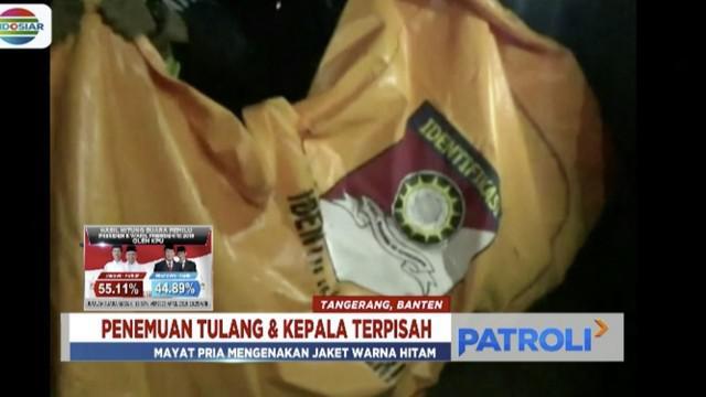 Polres Tangerang Selatan mengungkapkan penemuan kepala dan tulang belulang manusia di di daerah Cihuni bukan merupakan korban mutilasi.